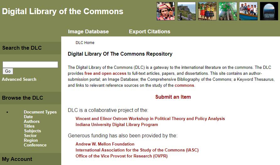 DLC academic research databases