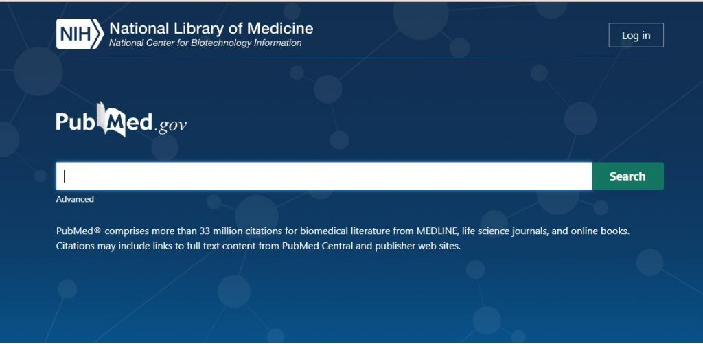 PubMed academic research databases