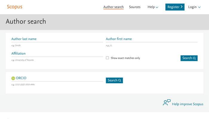 Scopus academic research databases